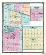 Annawan, Bishop Hill, Nekoma, Andover, Henry County 1875